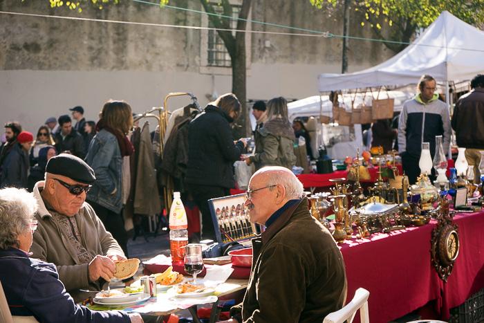 Thieves market Lisbon